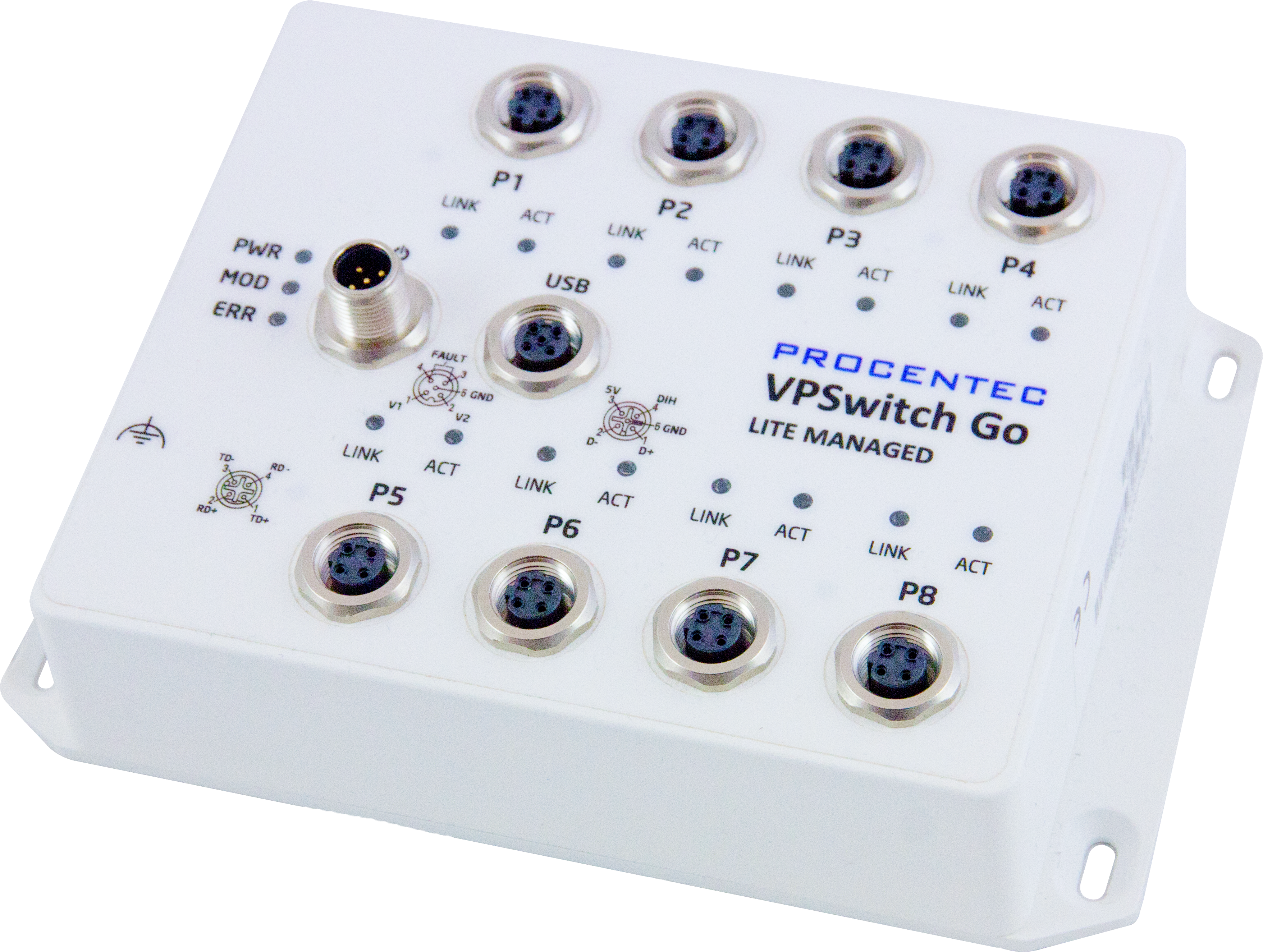 VPSwitch Go gestito lite (Lite Managed) 8TX-M12